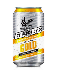 GLOBE GOLD MID STRENGTH BEER