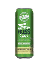 FRESH PRESS CIDER CANS