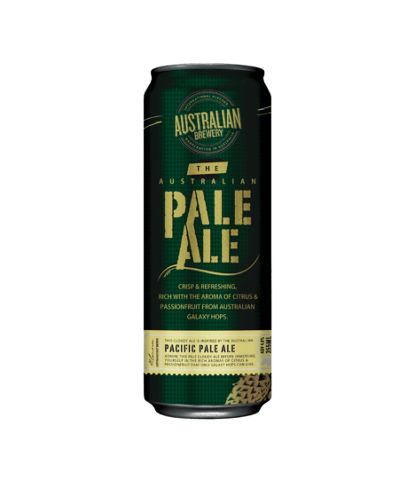 AUSTRALIAN BREWERY THE PALE ALE CANS