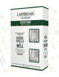 LAPHROAIG SELECT CASK 700ML WITH A BONUS OF 2 NOSING GLASSES
