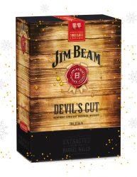 JIM BEAM DEVIL'S CUT 700ML WITH A BONUS OF 2 DEVIL'S CUT ROCKS GLASSES
